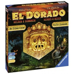 Quest for El Dorado Heroes and Hexes