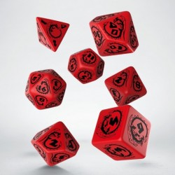Premium Dice Set (7) Assorted Colors