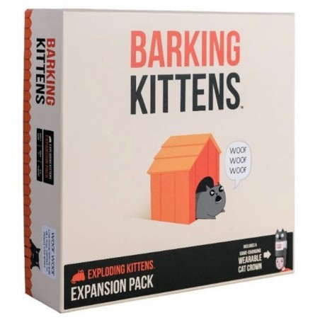 Barking Kittens: This Is The Third Expansion of Exploding Kittens