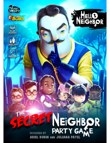 Hello Neighbor Secret Neighbor Party Game