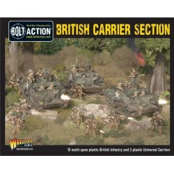 British Carrier Section (3 Universal Carriers)
