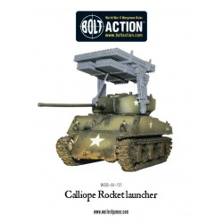 Calliope multiple rocket launcher