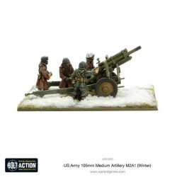 US Army 105mm Medium Artillery M2A1 (Winter)