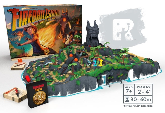 Fireball Island - 80's Board Game, Reignited and Restored