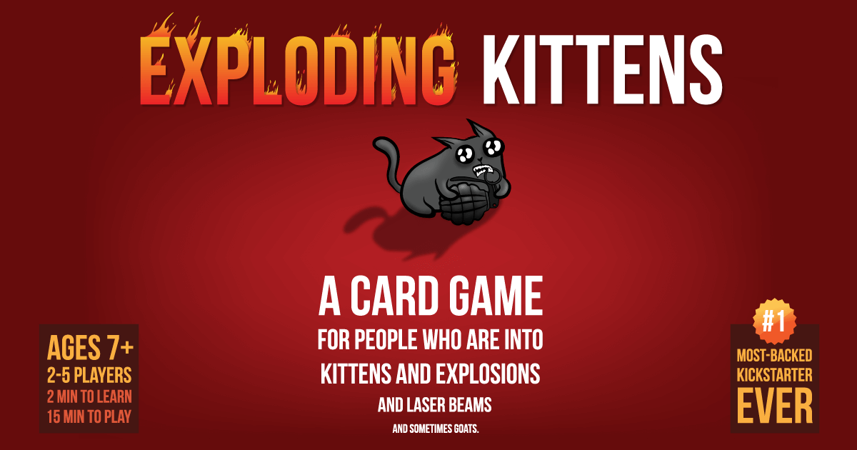 Exploding Kitten Back in Stock